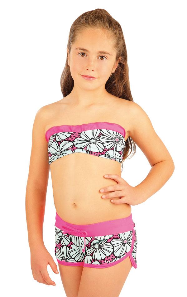 Dievčenské plavkové kraťasy. 88449   Detské plavky - zľava LITEX