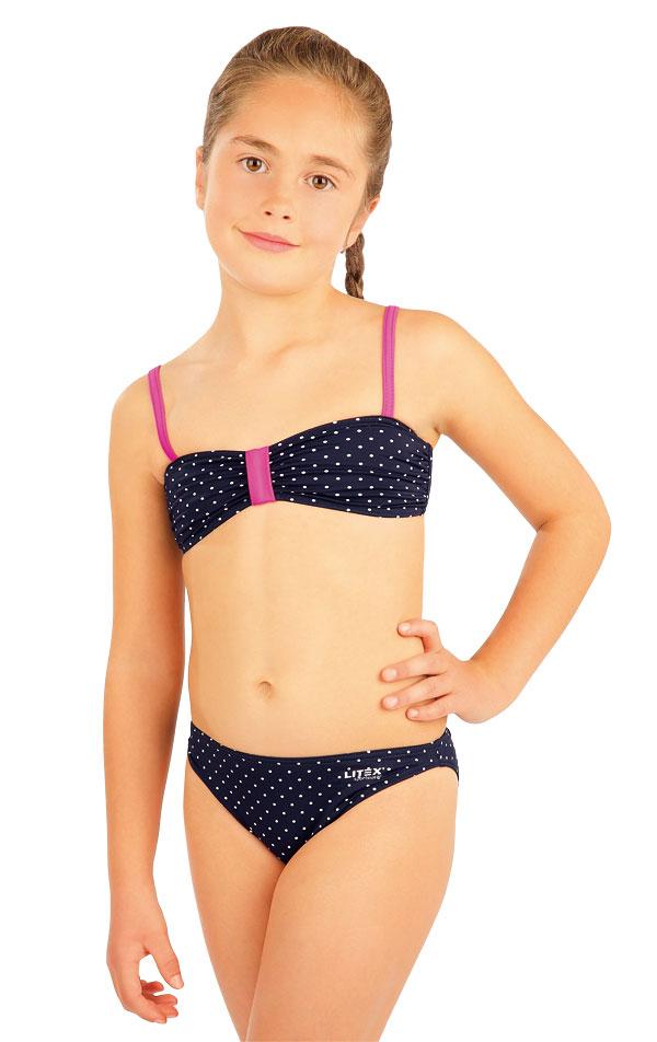 Dievčenská plavková podprsenka BANDEAU. 88454 | Detské plavky - zľava LITEX