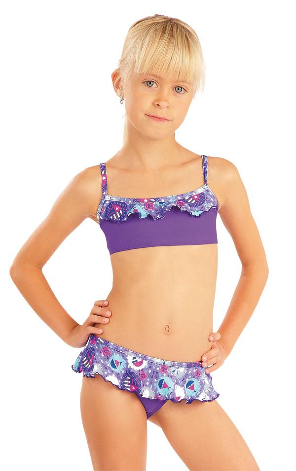 Dievčenské plavkové nohavičky. 88475 | Detské plavky - zľava LITEX