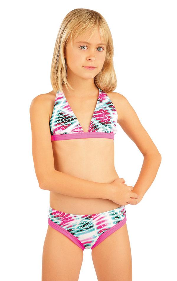 Dievčenská plavková podprsenka. 88478   Detské plavky - zľava LITEX