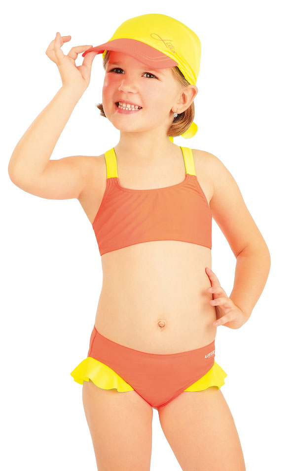 Dievčenské plavkové nohavičky. 88489 | Detské plavky - zľava LITEX