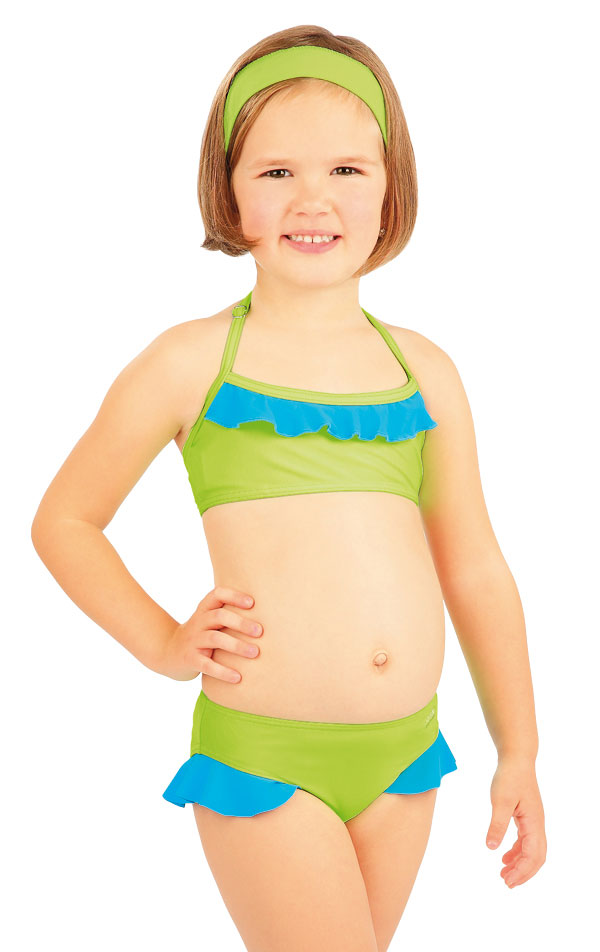 Plavkový top dievčenský. 88497 | Detské plavky - zľava LITEX