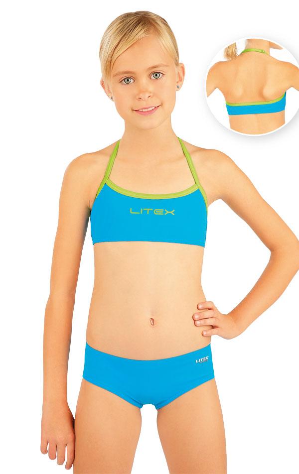 Plavkový top dievčenský. 88499 | Detské plavky - zľava LITEX
