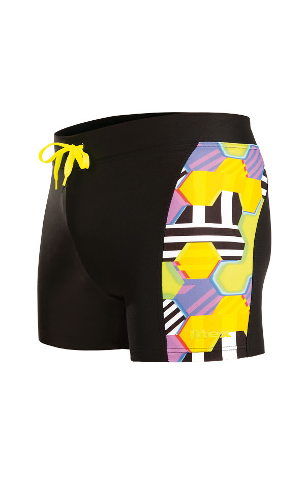 Pánske plavky boxerky. 88542   Pánske plavky - zľava LITEX