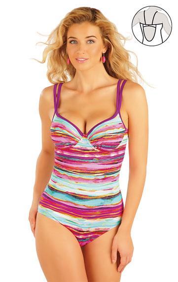 Dámske plavky - zľava > Jednodielne plavky s hlbokými košíčkami. 93012