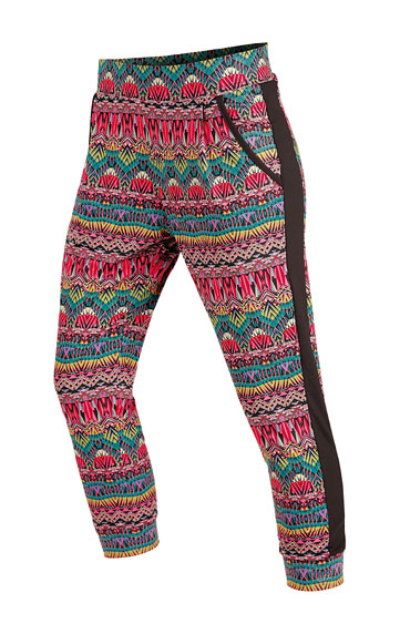 Nohavice dámske 7/8 s nízkym sedom.