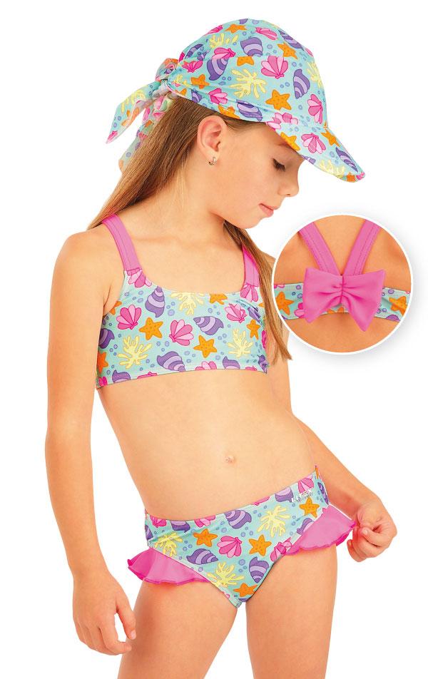 Plavkový top dievčenský. 93532 | Detské plavky - zľava LITEX