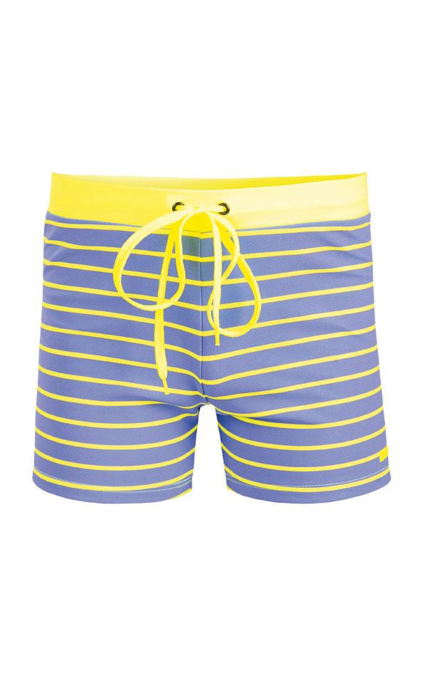 Chlapčenské plavky boxerky. 93608 | Pánske plavky - zľava LITEX