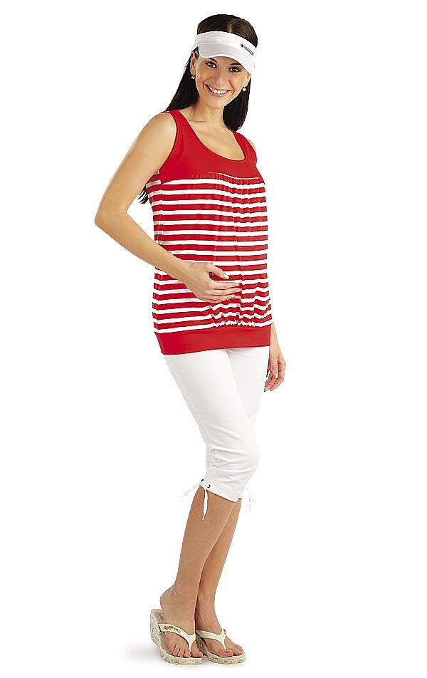 Legíny tehotenské v 3/4 dĺžke. 99409 | Tehotenské oblečenie LITEX