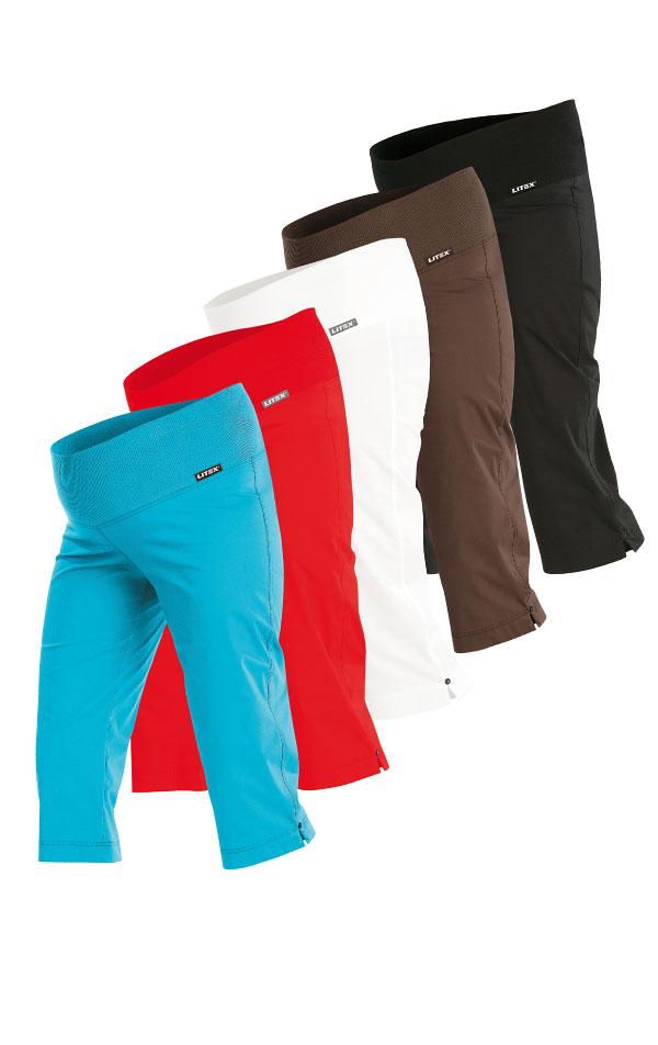 Nohavice tehotenské v 3/4 dĺžke. 99527 | Tehotenské oblečenie LITEX