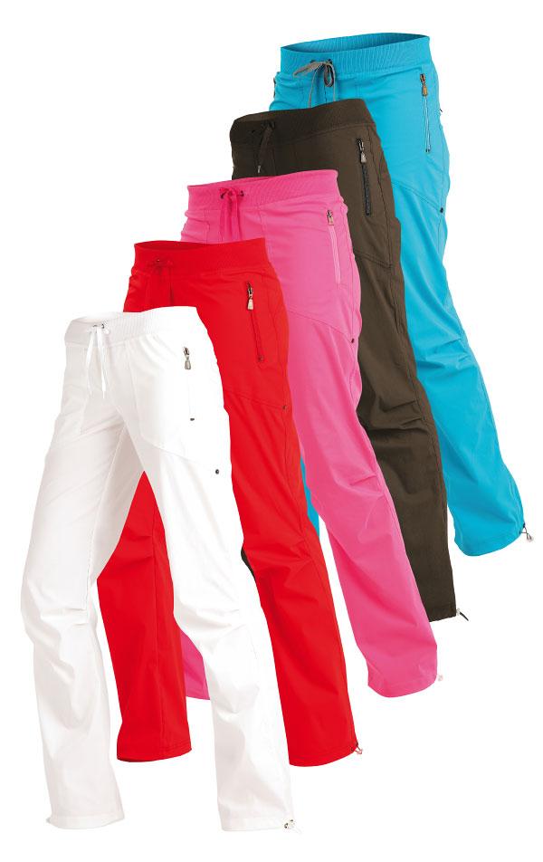 Nohavice dámske dlhé bokové - skrátené. 99571 | Športové nohavice, tepláky, kraťasy LITEX