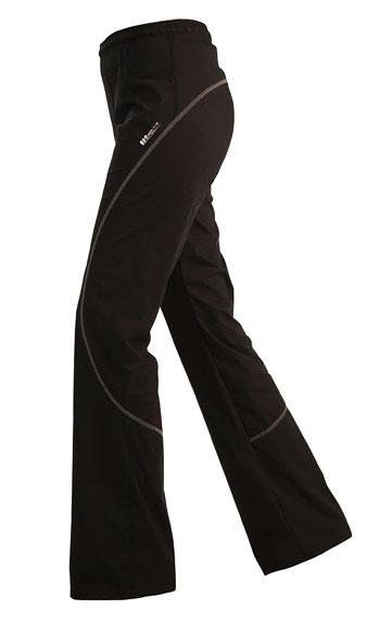 Nohavice dámske dlhé do pásu.