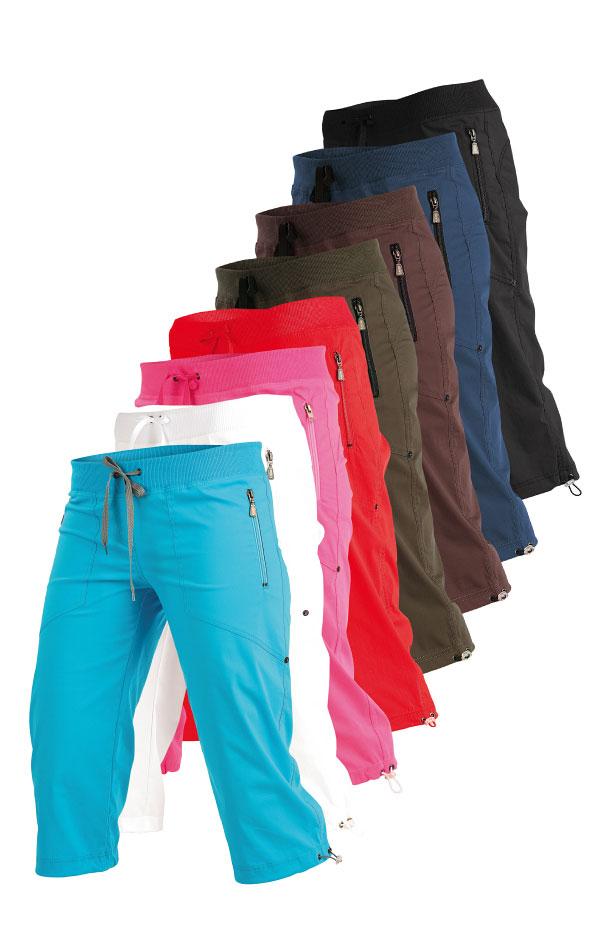 Nohavice dámske v 3/4 dĺžke bokové. 99583 | Športové nohavice, tepláky, kraťasy LITEX