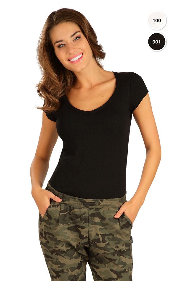 Tričko dámske s krátkym rukávom. 99592 | Tielka, trička, halenky LITEX