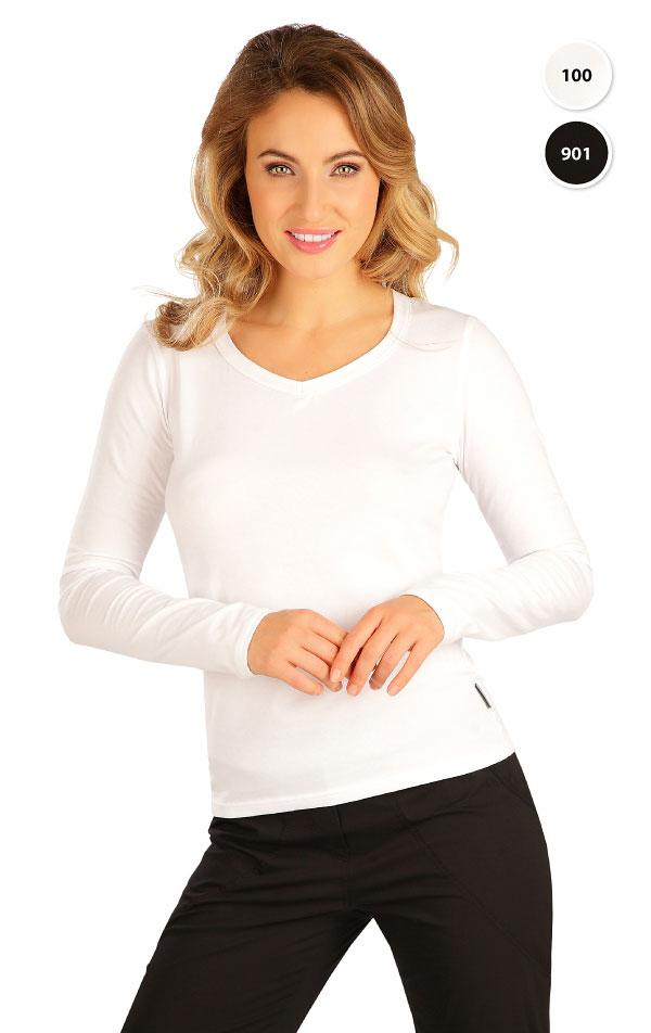 Tričko dámske s dlhým rukávom. 99596   Tielka, trička, halenky LITEX