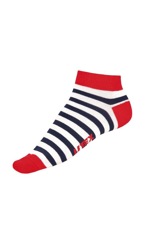 Dizajnové ponožky nízke. 99666 | Ponožky LITEX