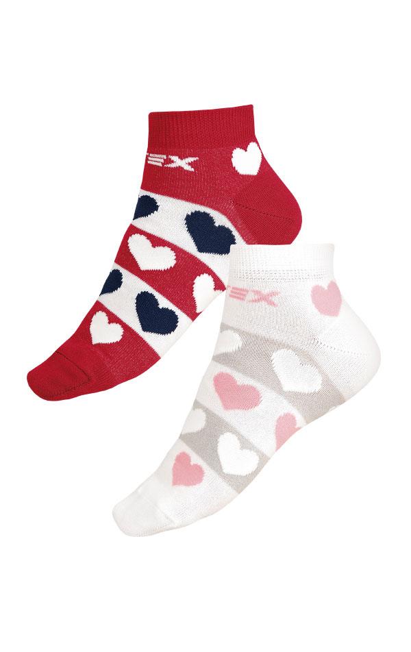Dizajnové ponožky nízke. 9A003   Ponožky LITEX