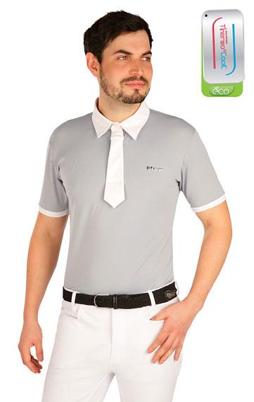 Jazdecké oblečenie > Polo tričko pánske závodné. J1000