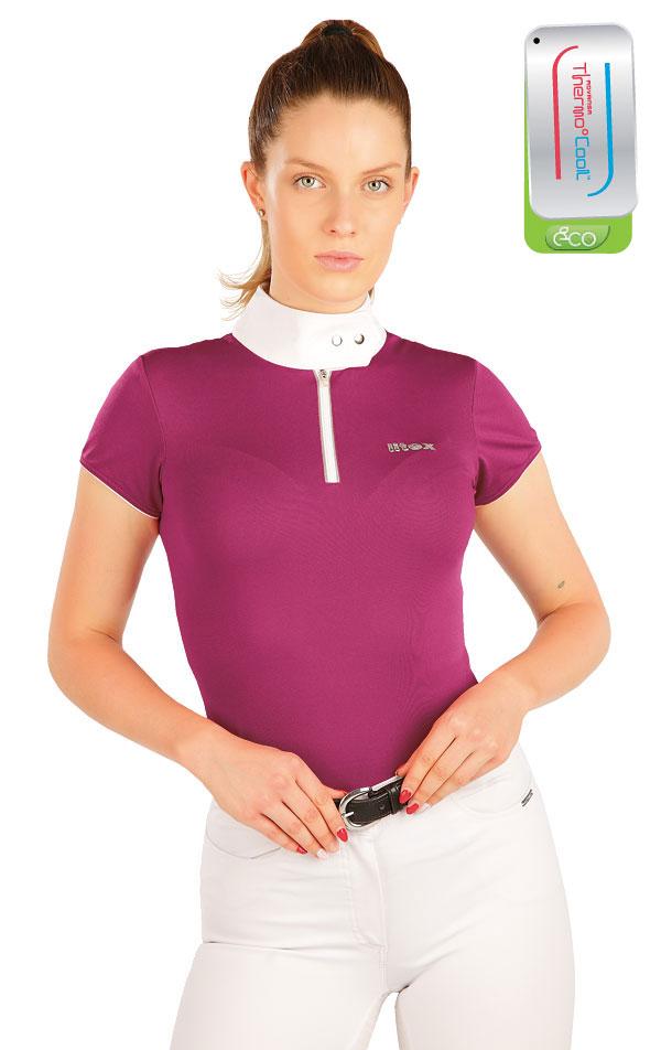 Tričko dámske závodné. J1001 | Jazdecké tričká LITEX