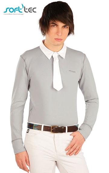 Jazdecké oblečenie > Polo tričko pánske závodné. J1035