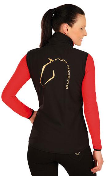 Jazdecké oblečenie > Vesta dámska so stojačikom. J1052