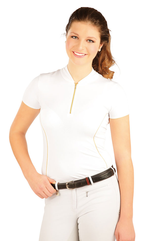 Tričko dámske závodné. J1066 | Jazdecké tričká LITEX