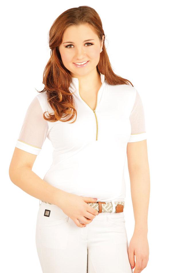 Tričko dámske závodné. J1067 | Jazdecké tričká LITEX