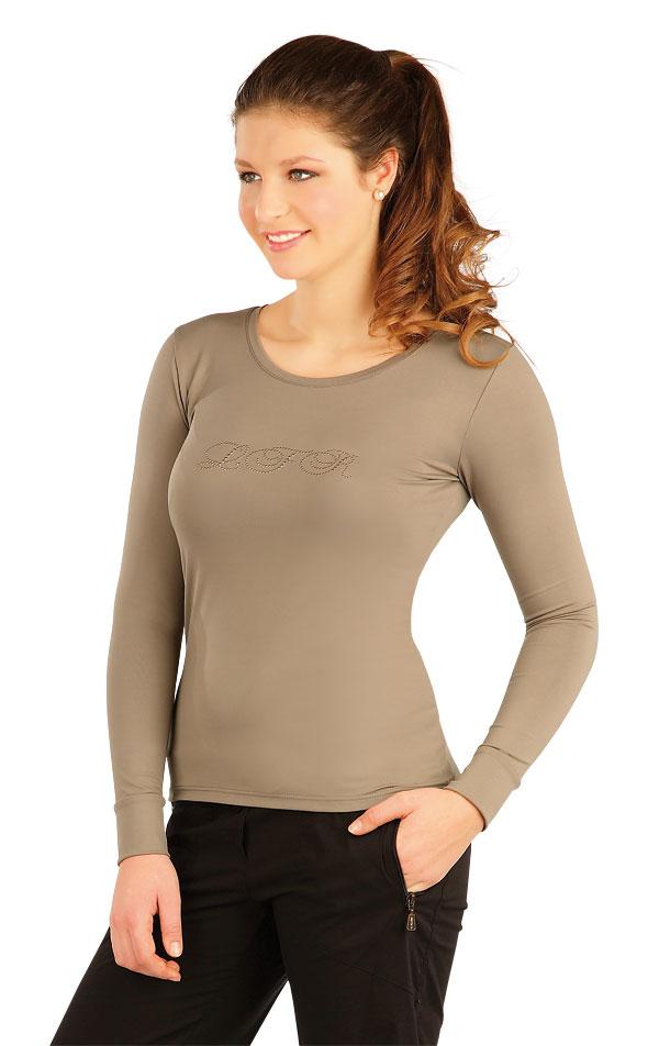 Tričko dámske s dlhým rukávom. J1073   Jazdecké tričká LITEX