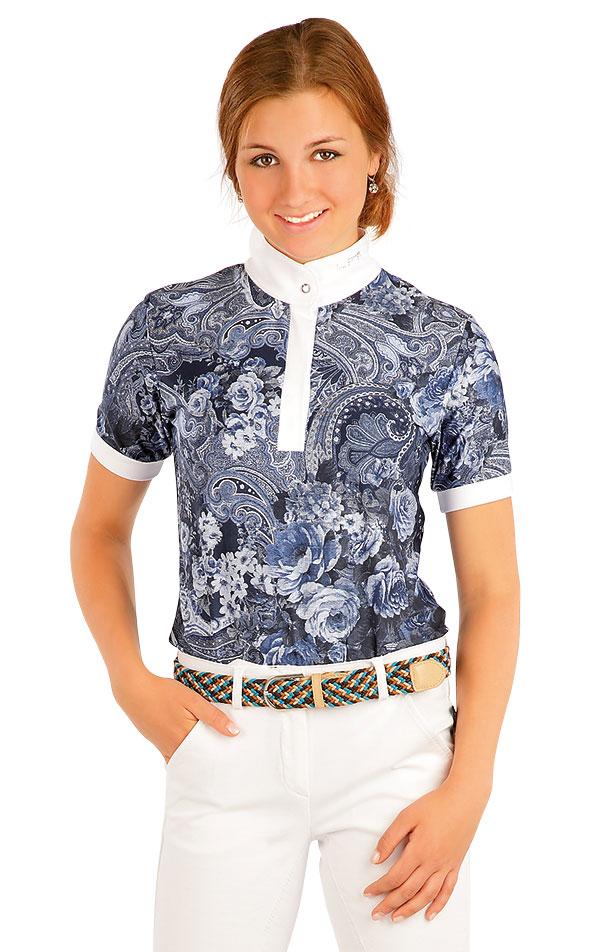 Tričko dámske závodné. J1095 | Jazdecké tričká LITEX