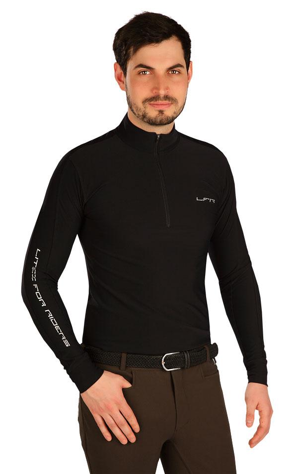 Tričko pánske s dlhým rukávom. J1103   Mikiny, vesty, roláky LITEX