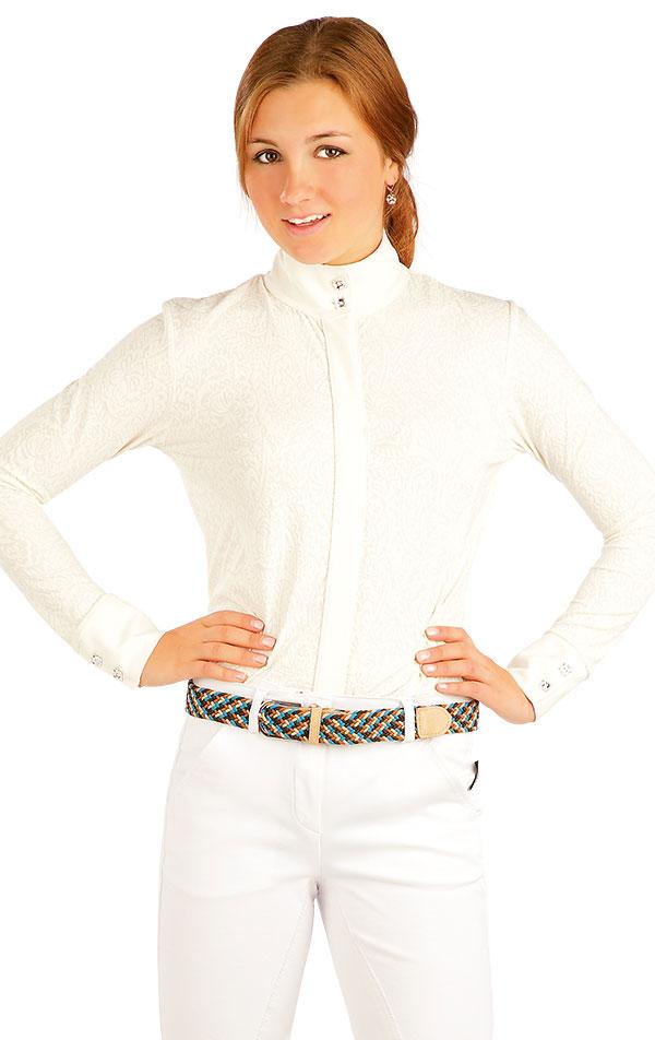 Košeľa dámska. J1105 | Jazdecké tričká LITEX
