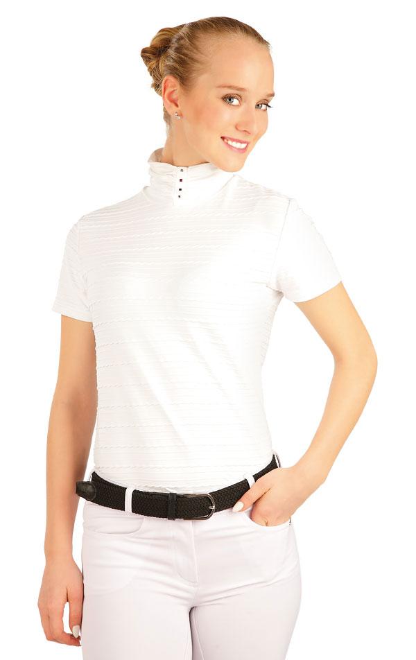 Tričko dámske s krátkym rukávom. J1107 | Jazdecké tričká LITEX