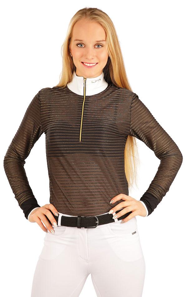 Tričko dámske s dlhým rukávom. J1110 | Jazdecké tričká LITEX