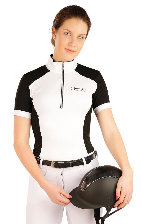 Tričko dámske s krátkym rukávom. J1112   Jazdecké tričká LITEX