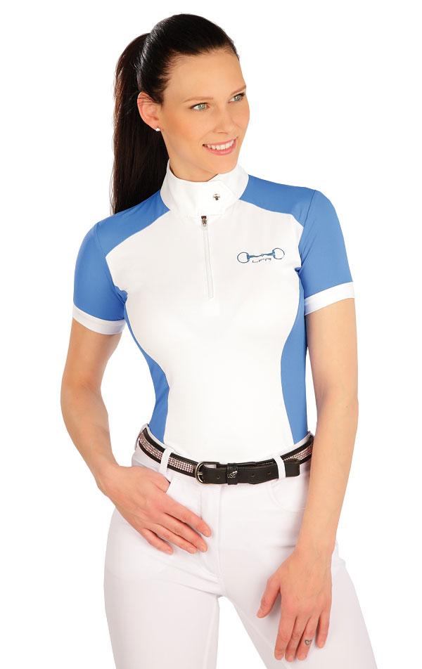 Tričko dámske s krátkym rukávom. J1116 | Jazdecké tričká LITEX
