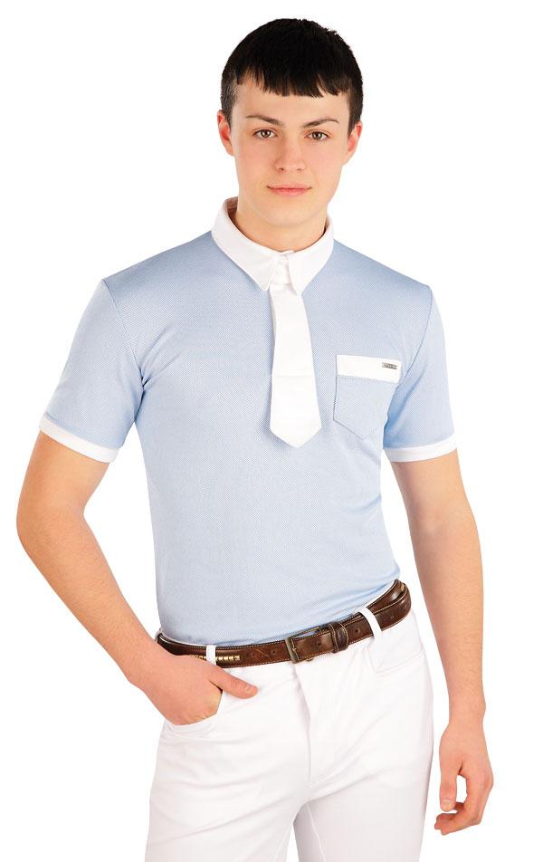 Polo tričko pánske závodné. J1121 | Jazdecké tričká LITEX
