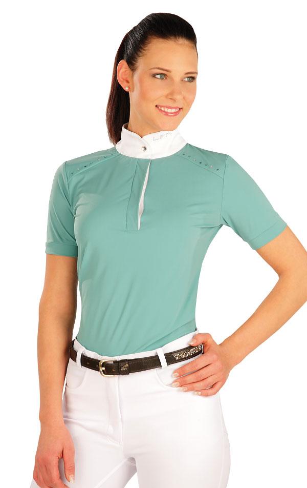 Tričko dámske s krátkymi rukávmi. J1141 | Jazdecké tričká LITEX
