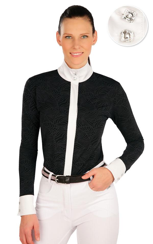 Košeľa dámska. J1144 | Jazdecké tričká LITEX