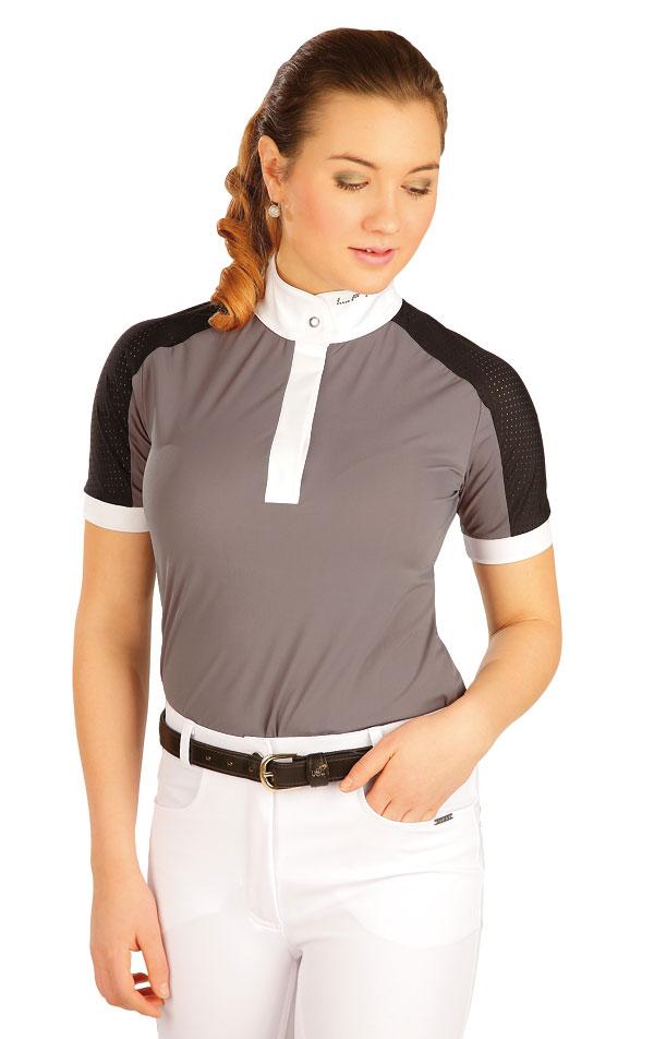 Tričko dámske s krátkymi rukávmi. J1146   Jazdecké tričká LITEX