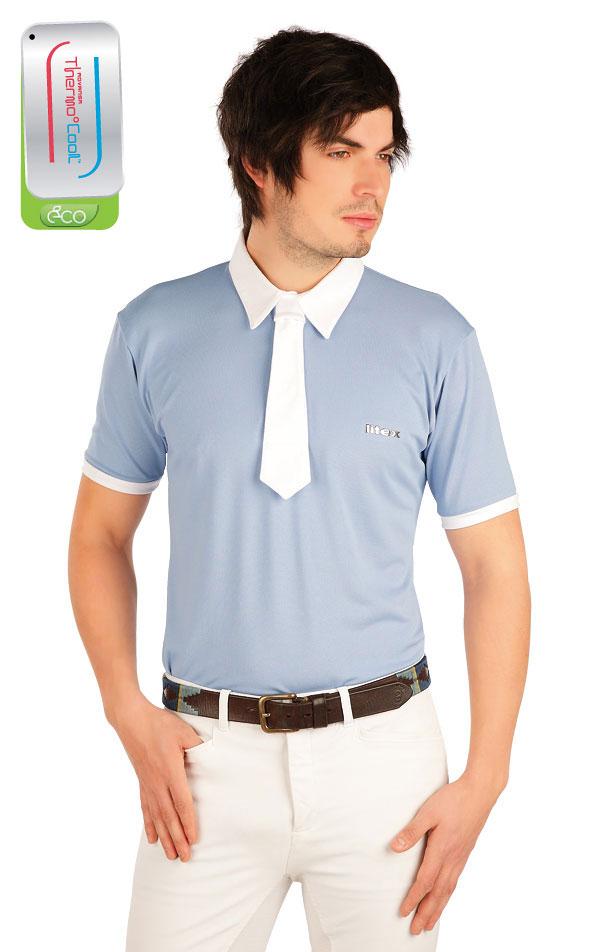 Polo tričko pánske závodné. J1159   Jazdecké tričká LITEX