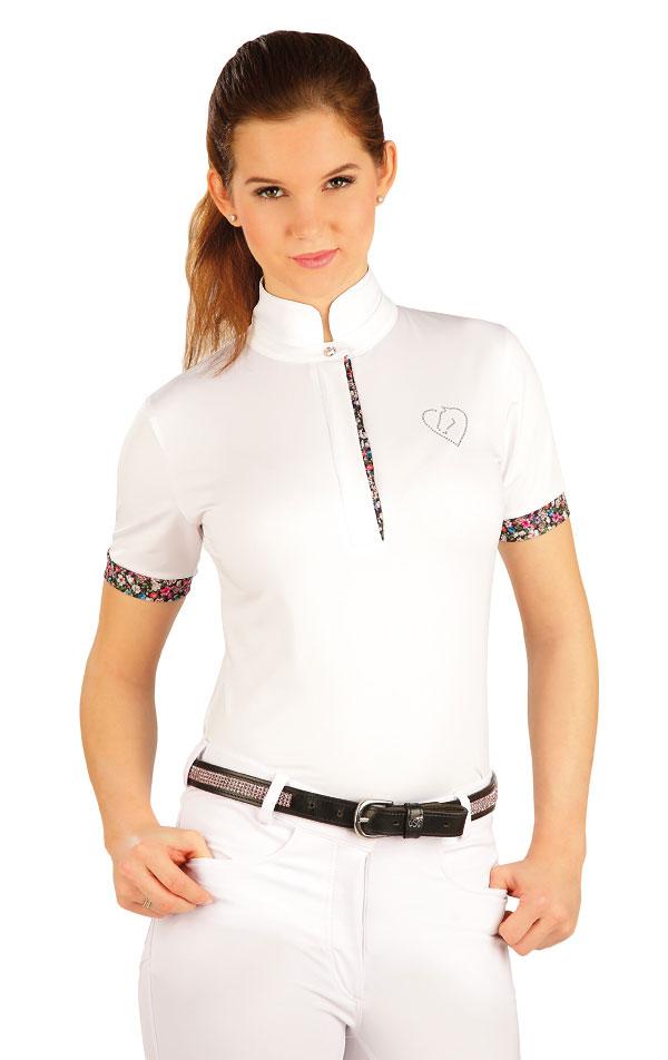 Tričko dámske s krátkymi rukávmi. J1161   Jazdecké tričká LITEX