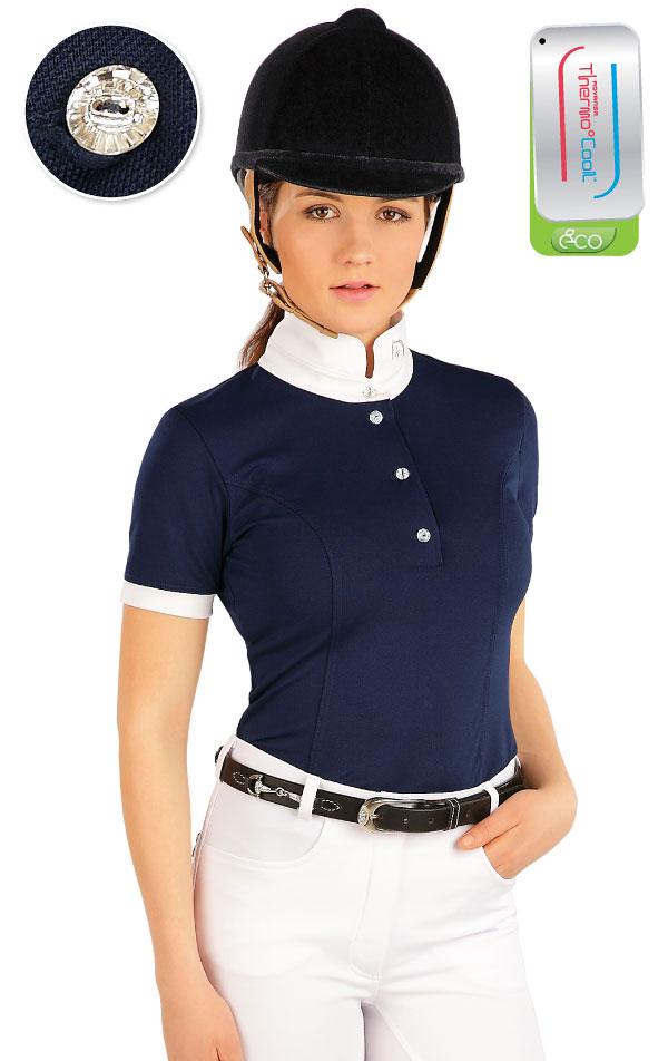 Tričko dámske s krátkym rukávom. J1164 | Jazdecké tričká LITEX