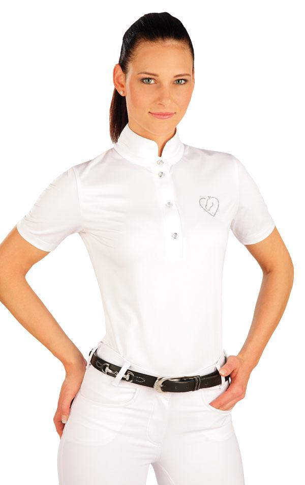 Tričko dámske s krátkym rukávom. J1165   Jazdecké tričká LITEX