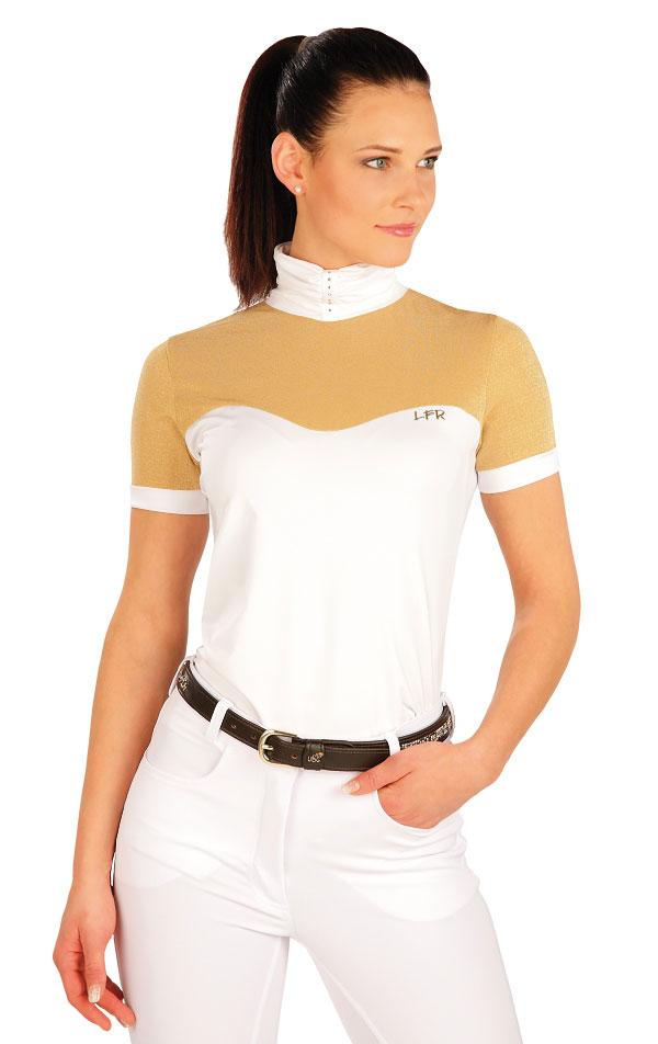 Tričko dámske s krátkym rukávom. J1166   Jazdecké tričká LITEX
