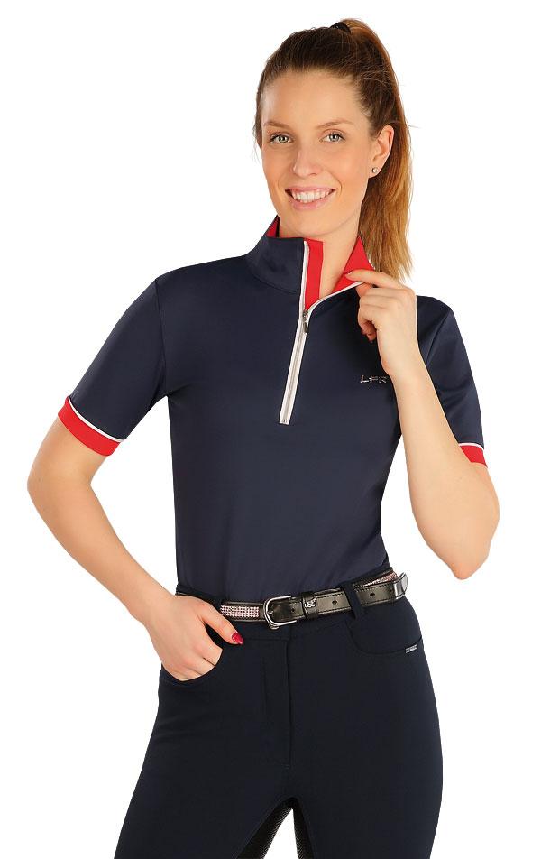 Tričko dámske s krátkymi rukávmi. J1181 | Jazdecké tričká LITEX