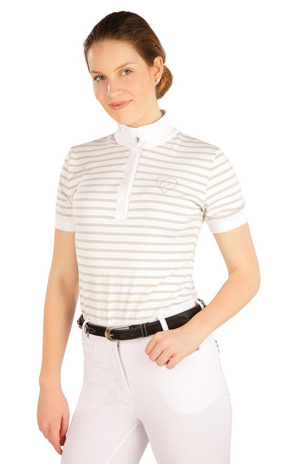 Tričko dámske s krátkym rukávom. J1212 | Jazdecké tričká LITEX