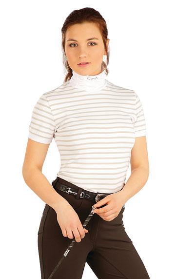 Jazdecké oblečenie > Tričko dámske s krátkym rukávom. J1213