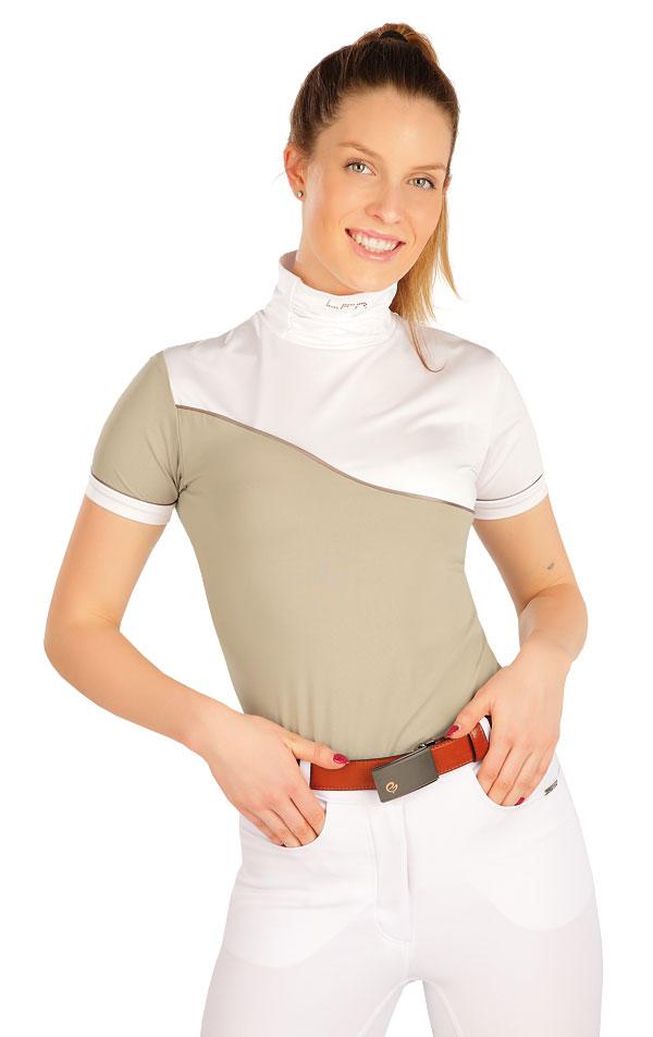 Tričko dámske s krátkym rukávom. J1215 | Jazdecké tričká LITEX
