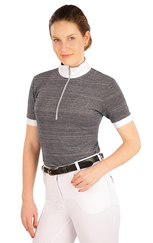 Tričko dámske s krátkym rukávom. J1216   Jazdecké tričká LITEX