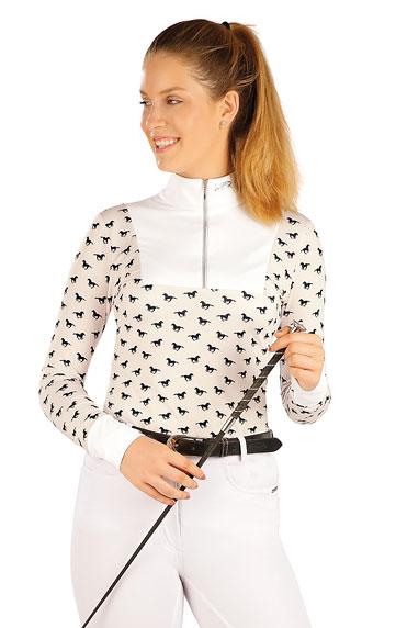 Jazdecké oblečenie > Tričko dámske s dlhým rukávom. J1229